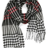 David & Young 'Softer Than Cashmere' Plaid Scarf | Nordstrom
