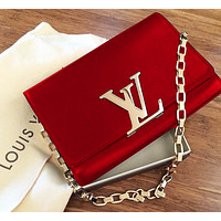 GUCCI Women Shopping Leather Crossbody Satchel Shoulder Bag Red B-MYJSY-BB