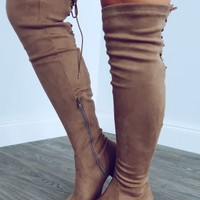 Ride Along Boots: Taupe