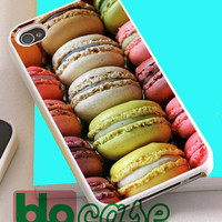 Colorful Macaroons For Iphone 4/4s, iPhone 5/5s, iPhone 5C, iphone 6, and iPhone 6 Plus Case
