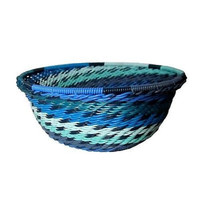Handcrafted Recycled Telephone Wire Bowl - Oceanic - South Africa