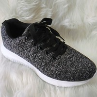 Women's Black Sneakers