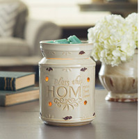 "Country Home Decor - Wax Melter, Candle Warmer - ""Bless This Home""  - Large Electric Wax Warmer - Christian Home Decor - Wax Burner"