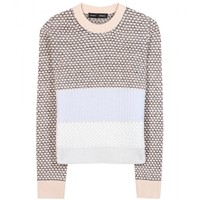 mytheresa.com -  Wool and cashmere-blend sweater  - Luxury Fashion for Women / Designer clothing, shoes, bags