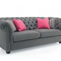 Metropolitan : 055279 : Henley Fabric Sofa : Decorium Furniture Store Toronto