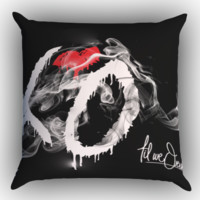 The Weeknd XO Till We Overdose Zippered Pillows  Covers 16x16, 18x18, 20x20 Inches
