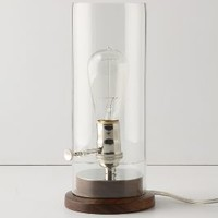 Menlo Desk Lamp by Anthropologie in Clear Size: One Size Lighting
