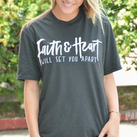 Faith And Heart Tee
