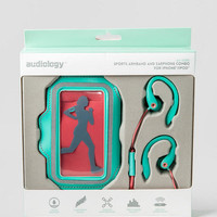 Sports Armband And Earphone Combo For IPhone & IPod