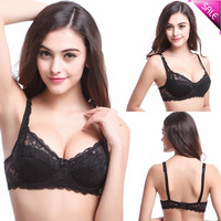 Underwired Full Coverage Minimizer non padded Lace Sheer Bra Size 34 36 38 40 #NY0124