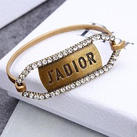 DIOR Popular Woman Retro Diamond Bracelet Accessories Jewelry