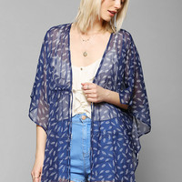Pins And Needles Cinched Kimono Jacket - Urban Outfitters
