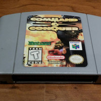 Command and conquer Nintendo 64 n64 video game console system