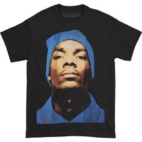 Snoop Dogg Men's  Snoop Beanie Profile T-shirt Black