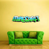 Full Color Wall Decal Vinyl Sticker Decor Art Bedroom Design Mural Like Paintings Minecraft Video Game Logo Sign Quote (col431)
