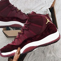 Nike Air Jordan 11 AJ11 Retro Velvet Women's Sneakers Shoes