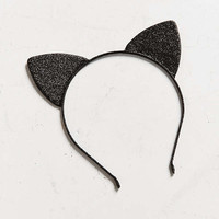 Shimmer Cat Ears   Urban Outfitters