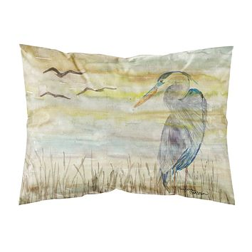 Blue Heron Yellow Sky Fabric Standard Pillowcase SC2020PILLOWCASE