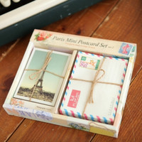 Paris Mini Postcard Envelope Set