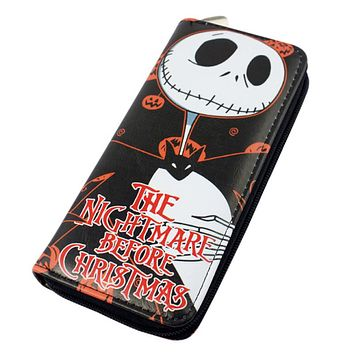 Nightmare Before Christmas Trifold Wallet