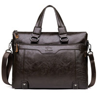 Men's Briefcase Business Shoulder Bags