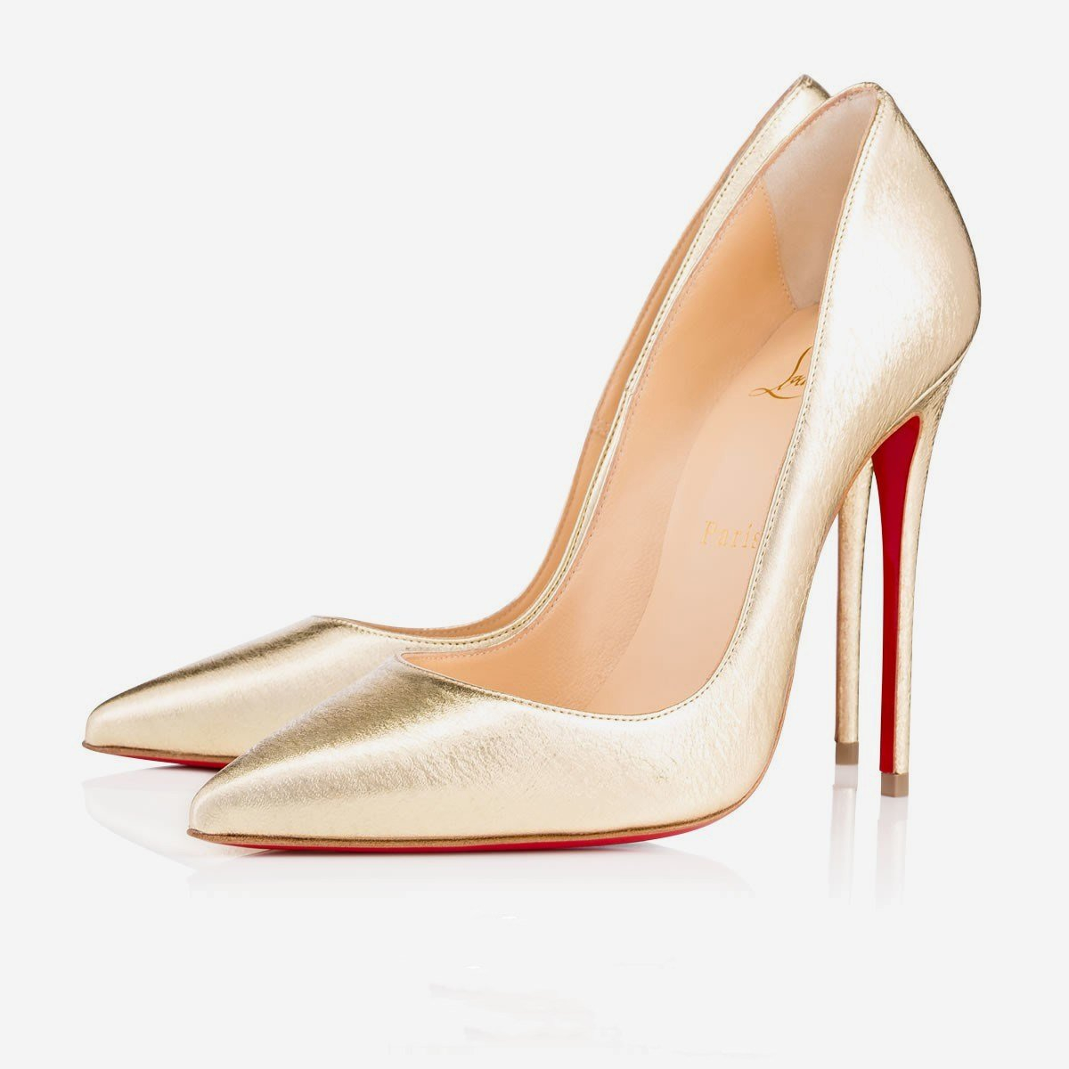 Image of Christian Louboutin New pointed high heels