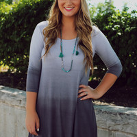 Grey Dreamer Dress