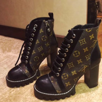 Louis Vuitton LV Women short boots