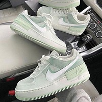 Nike Air Force 1 Shadow Women Men Fashion Casual Low-top Old Skool Shoes-5