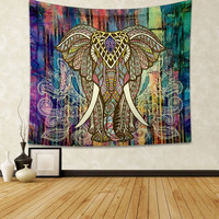 #a Mandala Indian Boho Wall Carpet Rectangle Beach towel printing Tapestry Europe and America Beach mat Window curtains sun