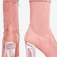 Make It Clear Vegan Suede Boot