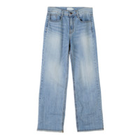 Loose Fit Faded Wash Jeans