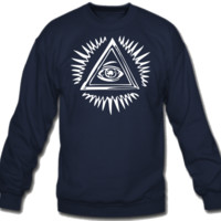 All seeing eye Crew Neck