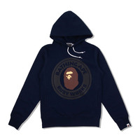 BUSY WORKS PULLOVER HOODIE Navy
