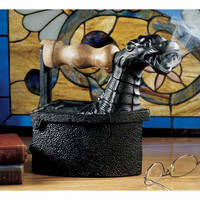 Park Avenue Collection Fire Breathing Dragon Iron