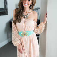 Capturing the Country Dress Blush