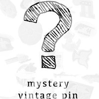 Mystery $4 Vintage Pin