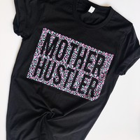 Mother Hustler Blush + Mint Cheetah Tee