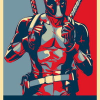 """Deadpool - Special Soldier 20""""x30"""" Wall poster Suck it"""