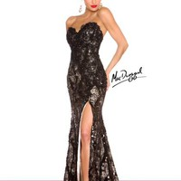 MacDuggal 76414R at Prom Dress Shop