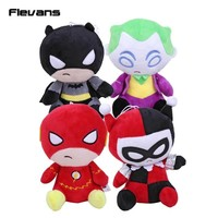 "Batman Dark Knight gift Christmas DC Comics The Flash Batman Harley Quinn The Joker Plush Toys Soft Stuffed Dolls 8"" 20cm AT_71_6"