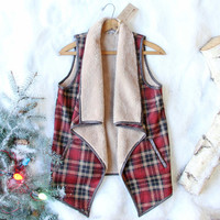The Alps Plaid Vest