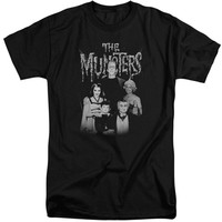 The Munsters - Family Portrait Short Sleeve Adult Tall