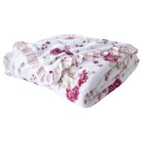 Simply Shabby Chic® Floral Cozy Blanket - Pink