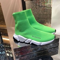 BALENCIAGA   Man Fashion Casual Shoes Men Fashion Boots fashionable Casual leather Breathable Sneakers