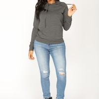Everyday Classic Hoodie - Charcoal