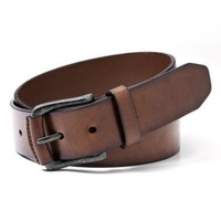 DCCK8BW CARSON LEATHER BELT