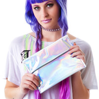 Kelnarchy Hologram Fold over clutch One