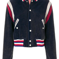 Gucci Tiger Patch Varsity Jacket - Farfetch