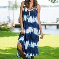 I Ink Therefore I Am Dress, Navy